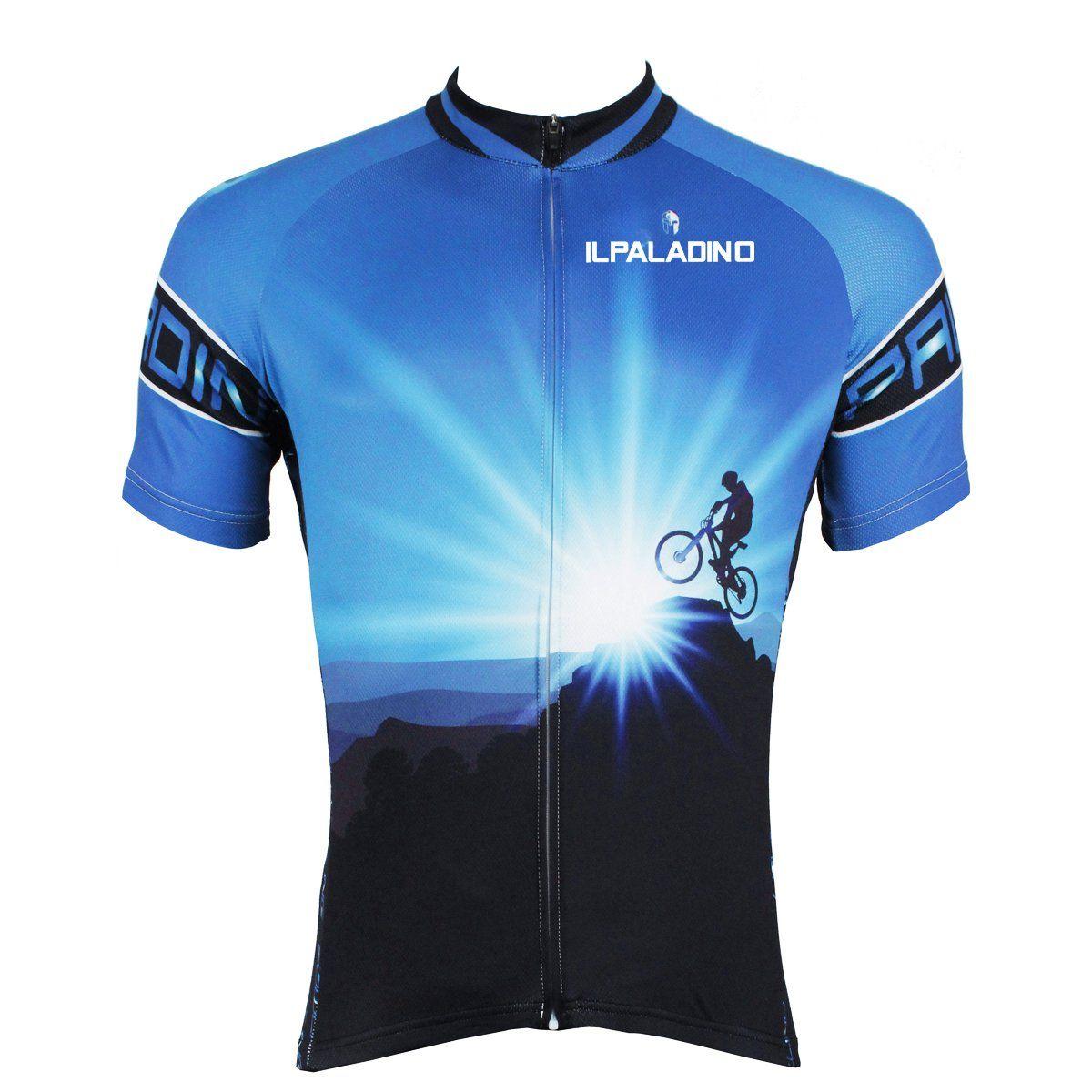 ILPALADINO Cyclist Climax Peak Ride Men s Cycling Jersey Bike Shirt Quick  Dry Road Bike Wear Breathable 24ef9b493