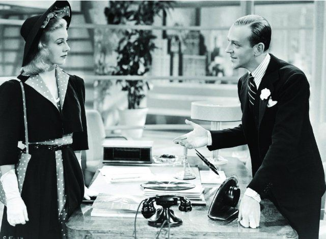 Ginger Rogers Fred Astaire In Carefree 1938 Ginger Rogers Fred Astaire Fred And Ginger