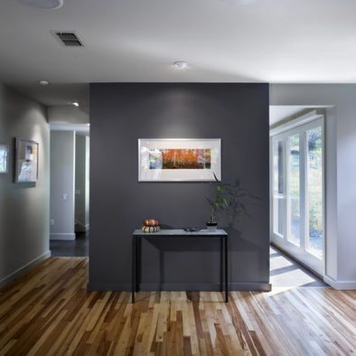 paint baseboard with the same gloss level and color as the wall