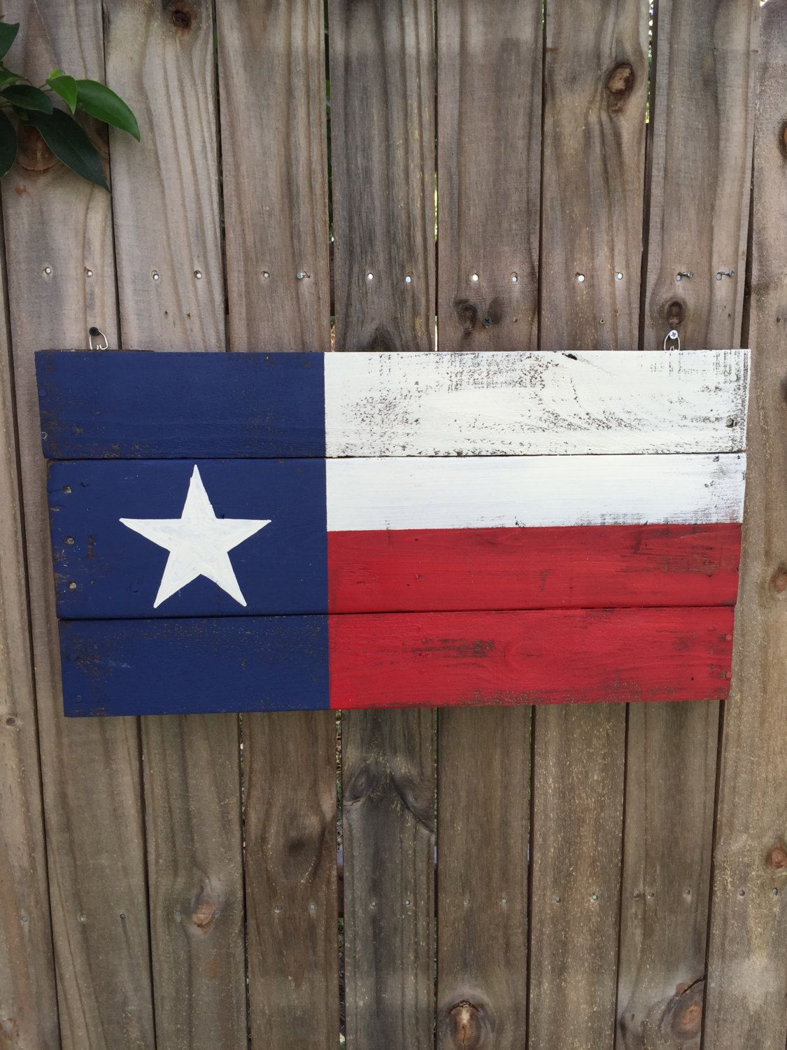 Texas flag Pallet Sign, Recycled pallet sign, wooden Texas art