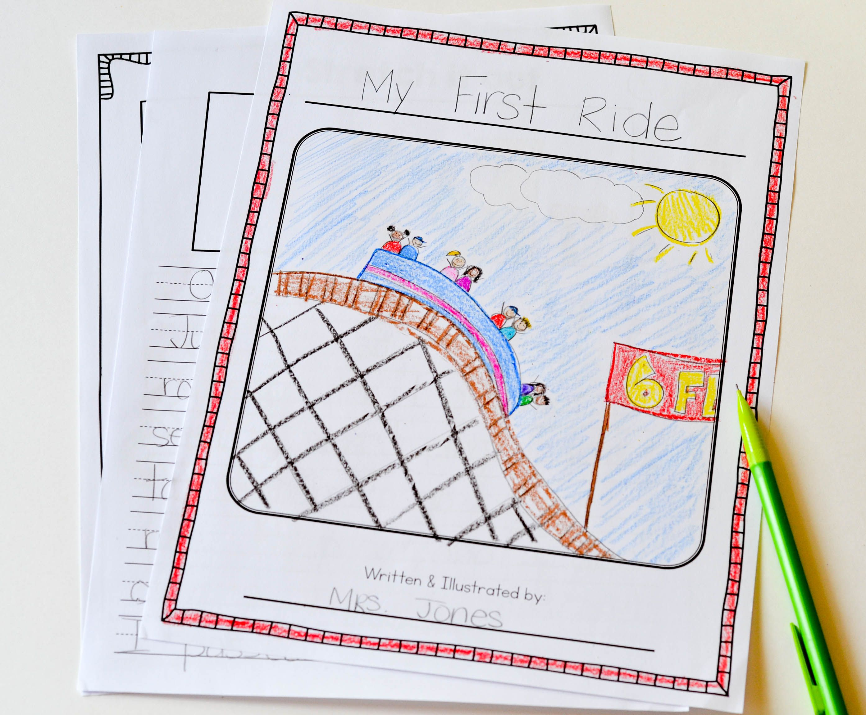 Writing Personal Narratives In First Grade