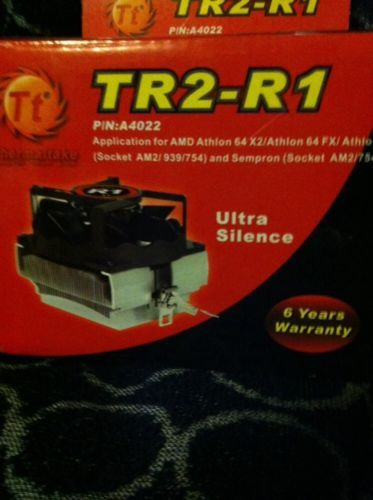 NIB PC COMPUTER PARTS Thermaltake TR2-R1 CPU Fan P/N: A4022