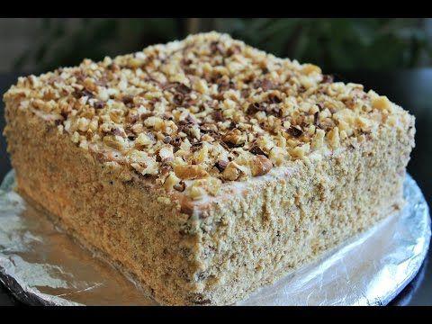 рецепты тортов простые без выпечки