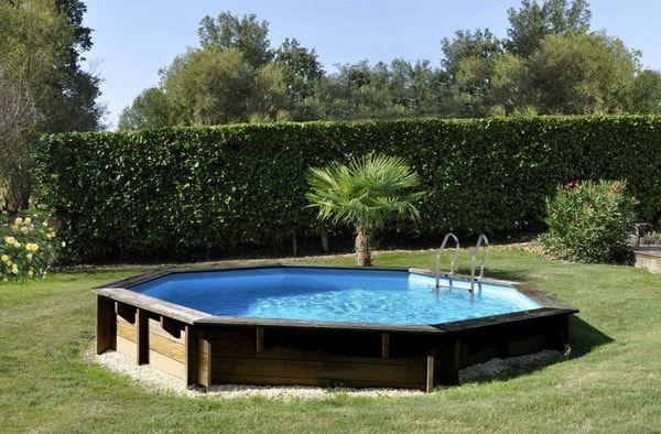 Piscinas de madera para el jard n piscinas desmontables deco pinterest piscinas madera - Piscinas desmontables enterradas ...