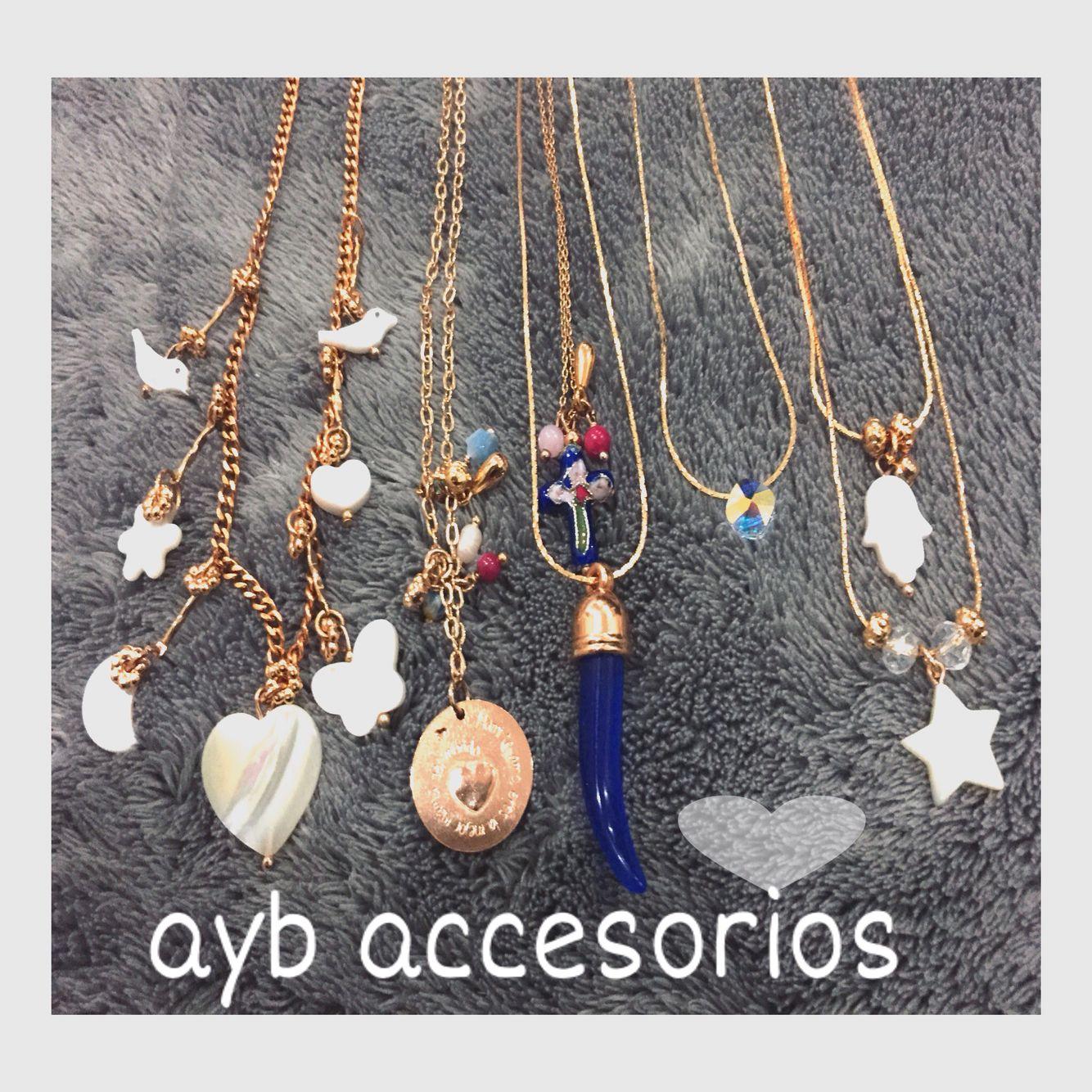 Cadenitas acero diseños exclusivos @ayb_accesorios
