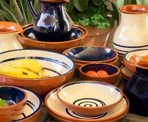 Vajillas de la bisbal ceramic pinterest - Vajillas portuguesas ...