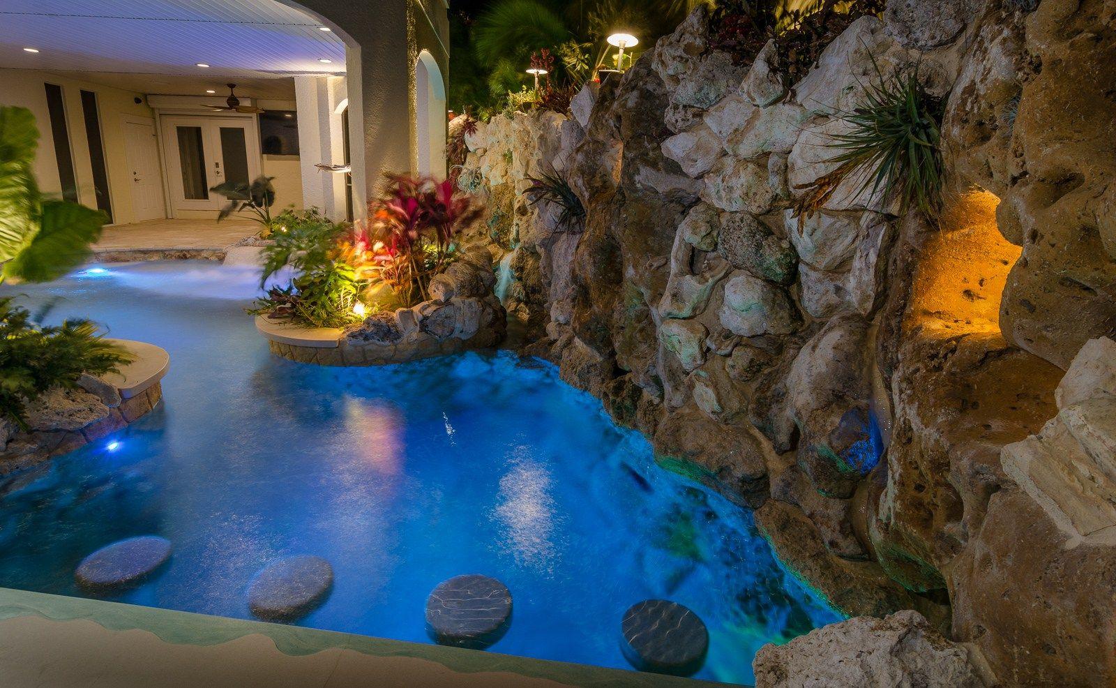 Living Under The Sea Lucas Lagoons Insane Pools Pool Houses Pool