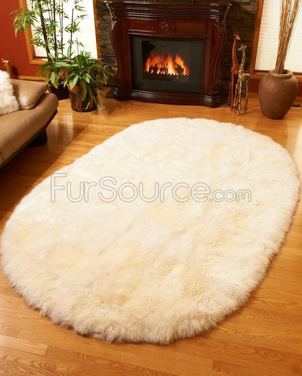 Sheepskintown For The Best Selection Of Custom Rugs Oval Shape Ivory White Sheepskin Area Rug By Bowron With Fast Same Day Shipping