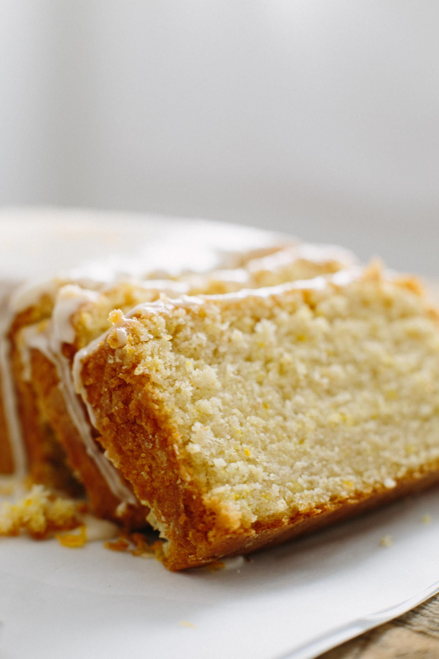 Eggless Pound Cake Recipe