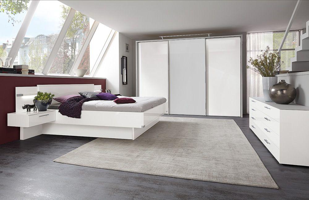 My Way von Nolte Delbrück Schlafzimmer weiß pastellgrau