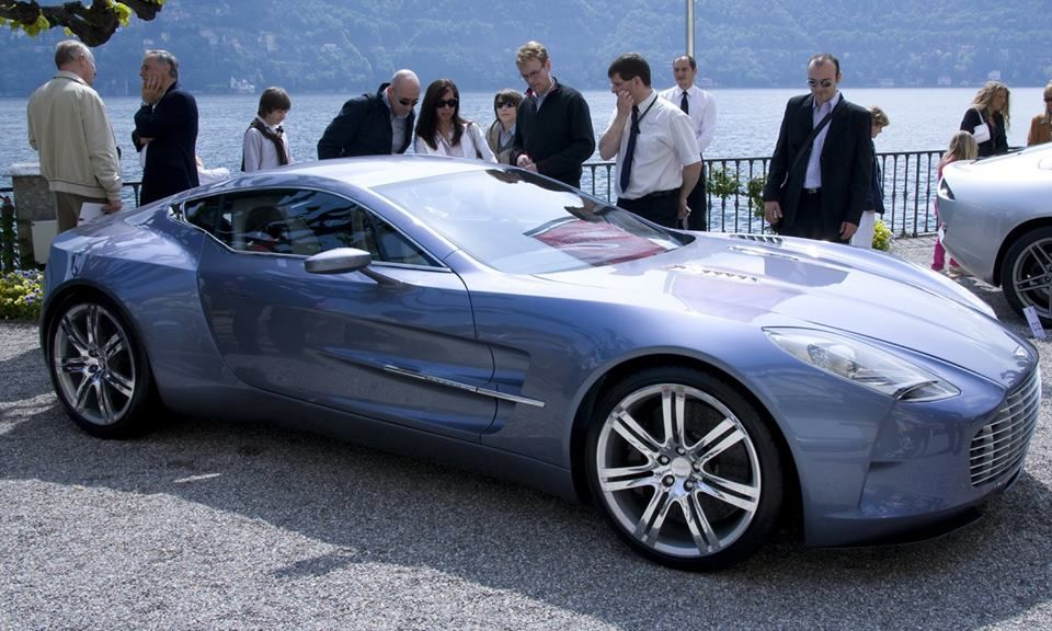 Aston Martin One77, 2nd most expensive car. Aston