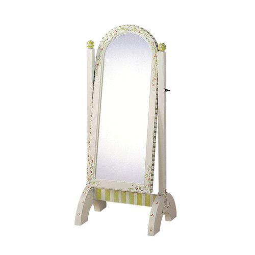 Fantasy Fields Alphabet Standing Mirror in White | New House Ideas ...