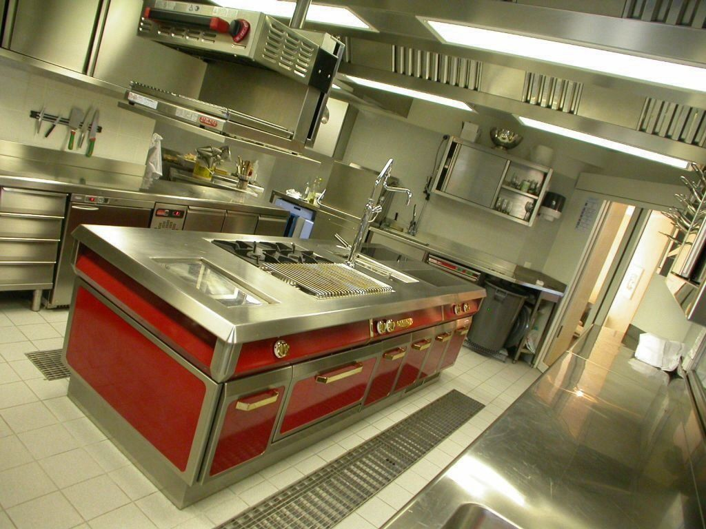 www stainlesssteeltile com likes this red commercial kitchen www stainlesssteeltile com likes this red commercial kitchen design for resturants stainless steel