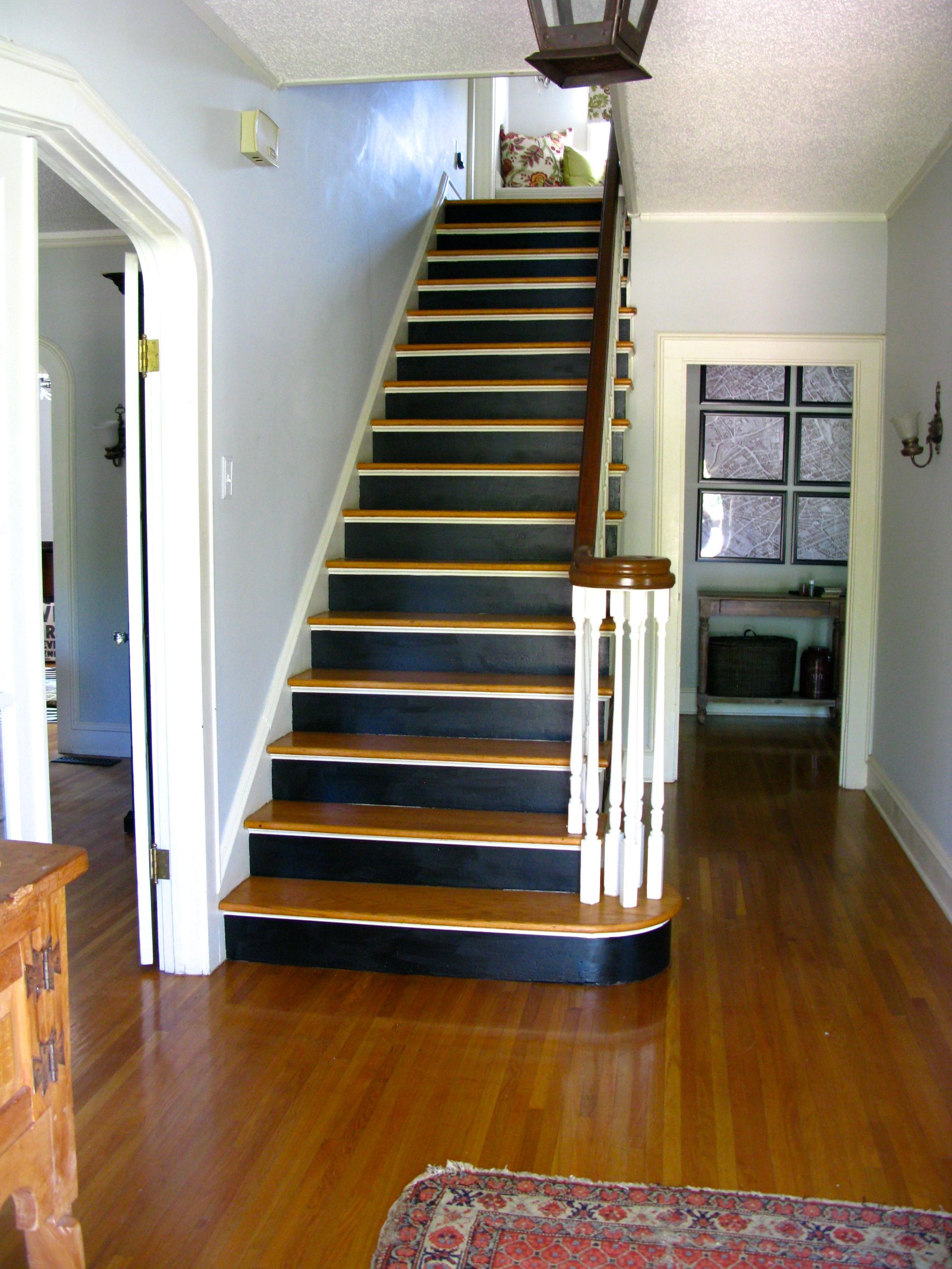 Staircase Makeover And The Gospel Of Paint