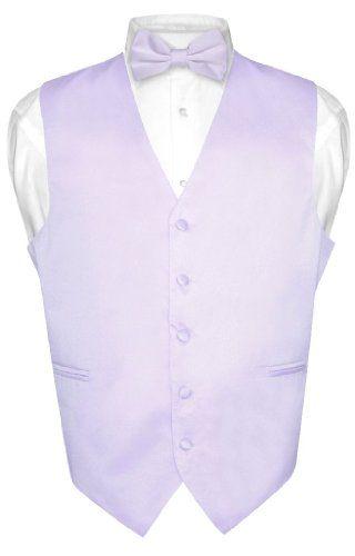 Men's Dress Vest BOWTie LAVENDER Purple Bow Tie Set for Suit or Tuxedo  http://www.azondealextreme.info/clothing/mens-suit/mens-dress-vest-bowtie-lavender-purple-bow-tie-set-for-suit-or-tuxedo-brand-new-vesuvio-napoli-brand-designed-in-italy-vest-and-bowtie-set-mens-solid-color-dress-vest-with-bow-tie/ Brand New Vesuvio Napoli Brand Designed in Italy Vest and BOWTie Set.