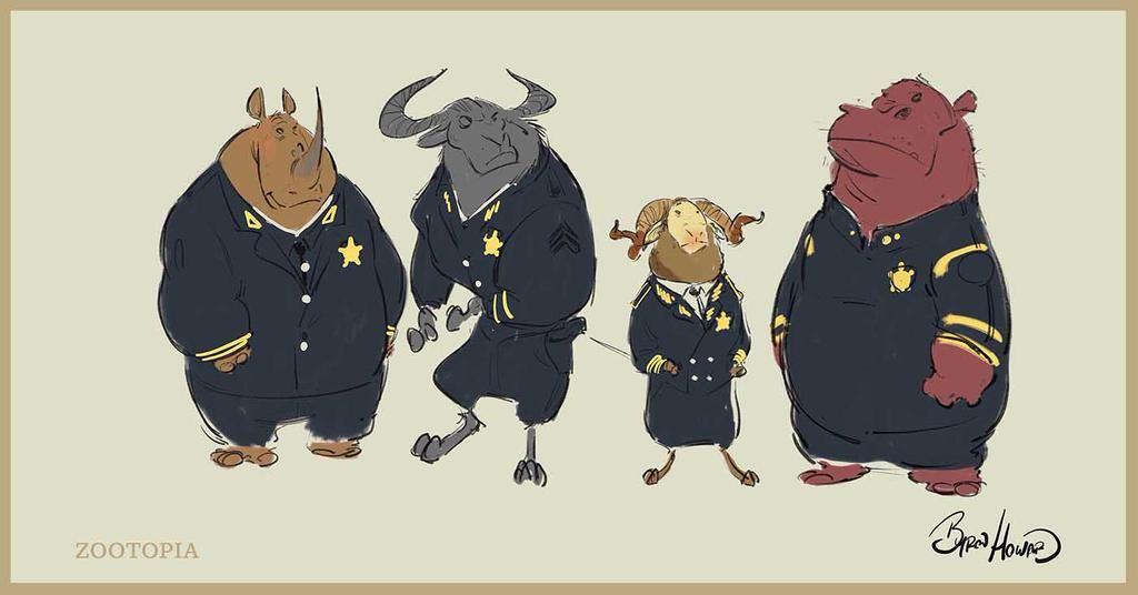 Character Design Zootopia : Byron howard on zootopia concept art disney animation