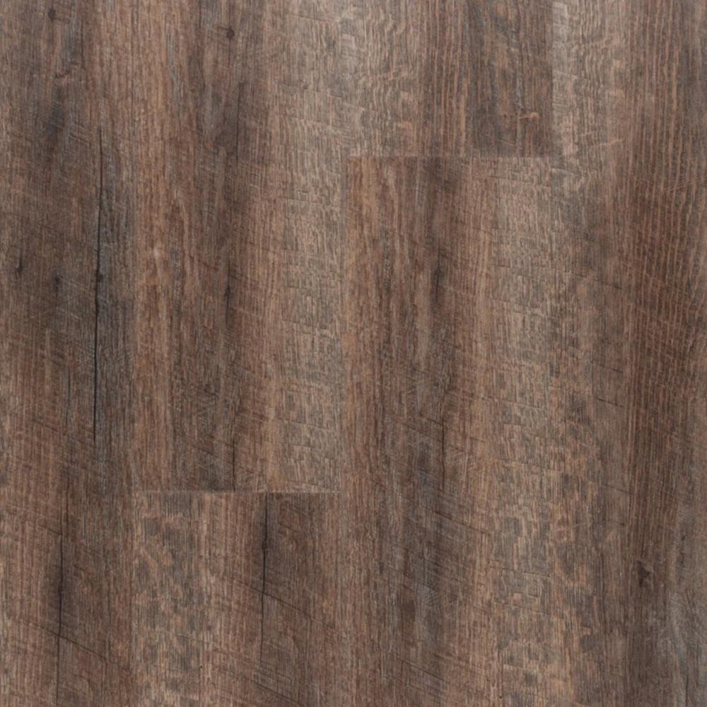 Ashen oak hand scraped plank with cork back plank for Laminate flooring cork