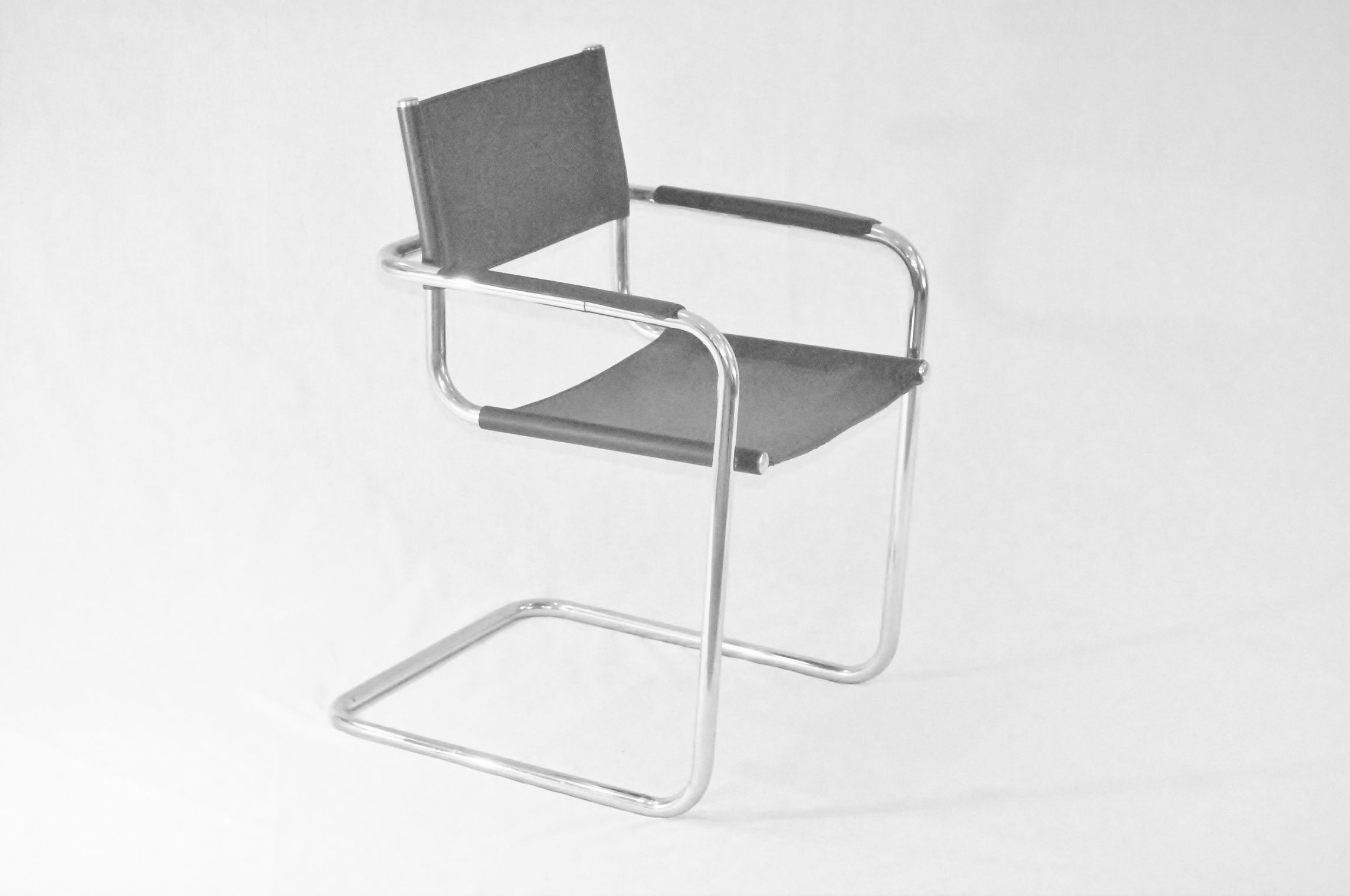 "Iconic Marcel Bauer ""Wassily"" Chairs in Chocolate Leather and Chrome Inventory Pinterest"