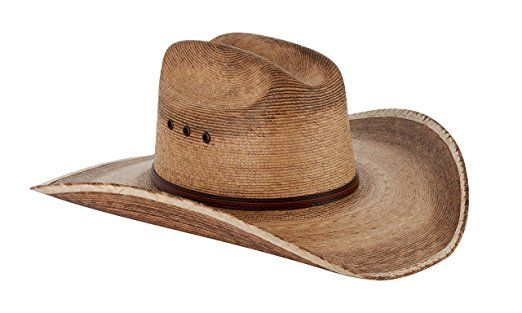 Western Cattleman Straw Cowboy Hat For Men Review  9d1568807248