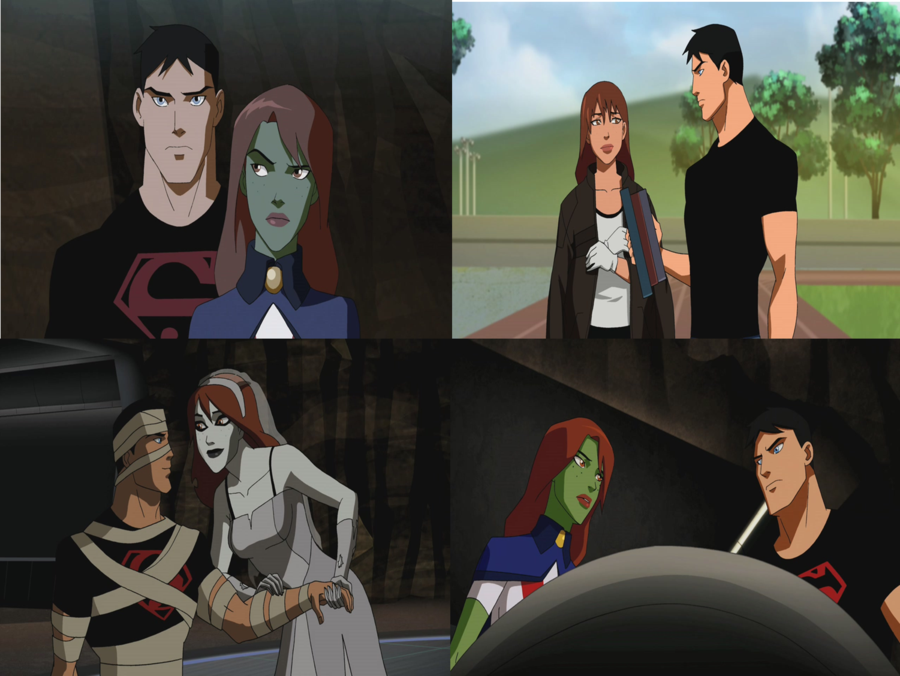 Young justice miss martian and artemis lemwell on deviantart