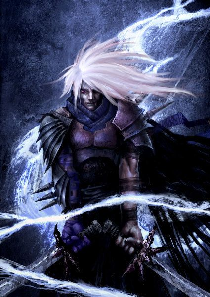 Drizzt! When I use to play dungeons and dragon as a kid with my brother I always loved being a drow because of this epic character here!