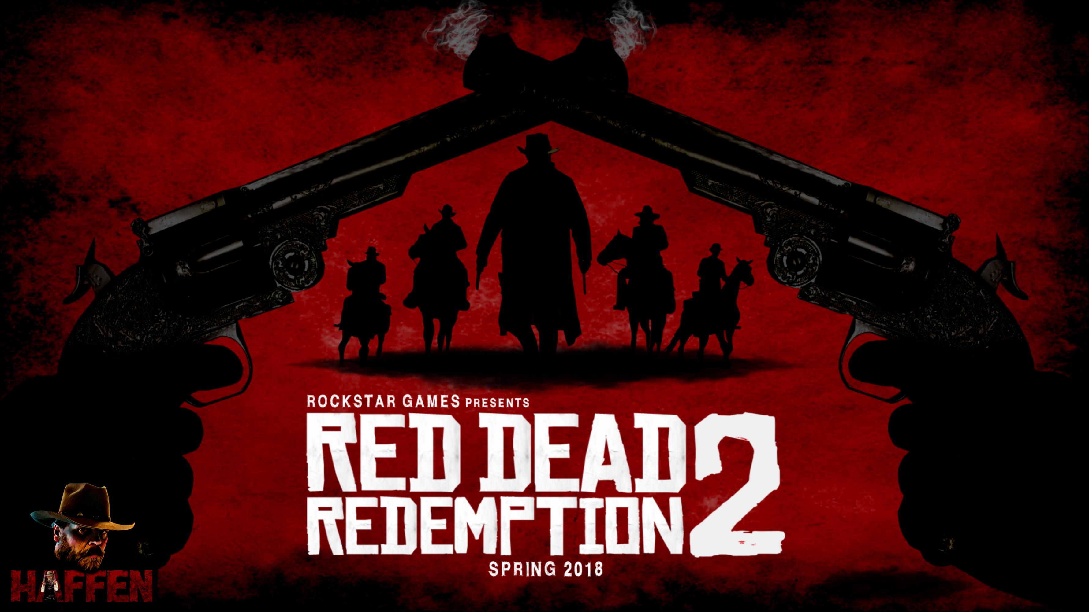 Red dead Redemption 2 Spring 2018 fan art by Haffen7