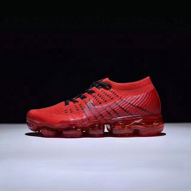 2018 Popular Nike Air Vapormax Collaboration 849560 009 Black Red Shoe cc9492b31