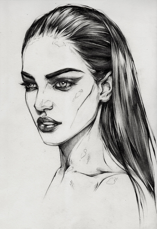Pencil sketch 3 by antarcticspring on deviantart
