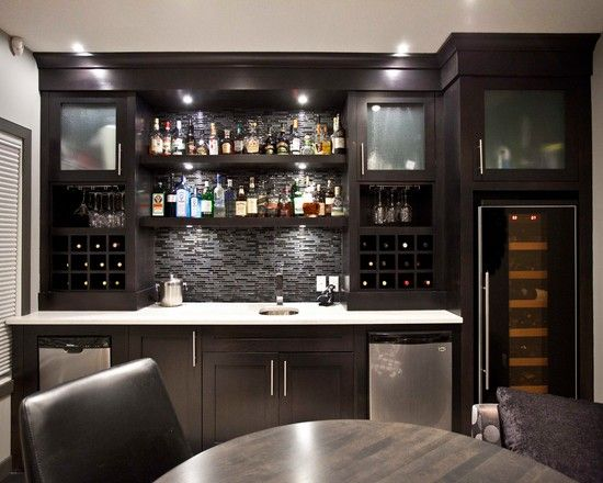 17+ Basement Bar Ideas And Tips For Your Basement Creativity | Basements, Contemporary  Bar And Houzz