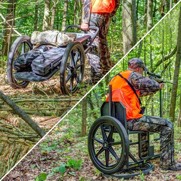 Kill Shot Throne Multipurpose Game Cart & Hunting Chair