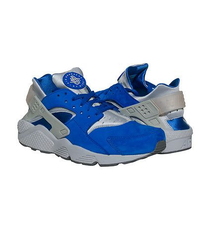 Nike Huarache RUN Reflective PRM Sneaker Medium Green Mens