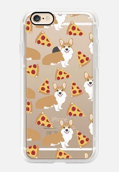 promo code fa847 ceaad Corgi pizza cheesy slices welsh corgi lovers cell phone case must ...