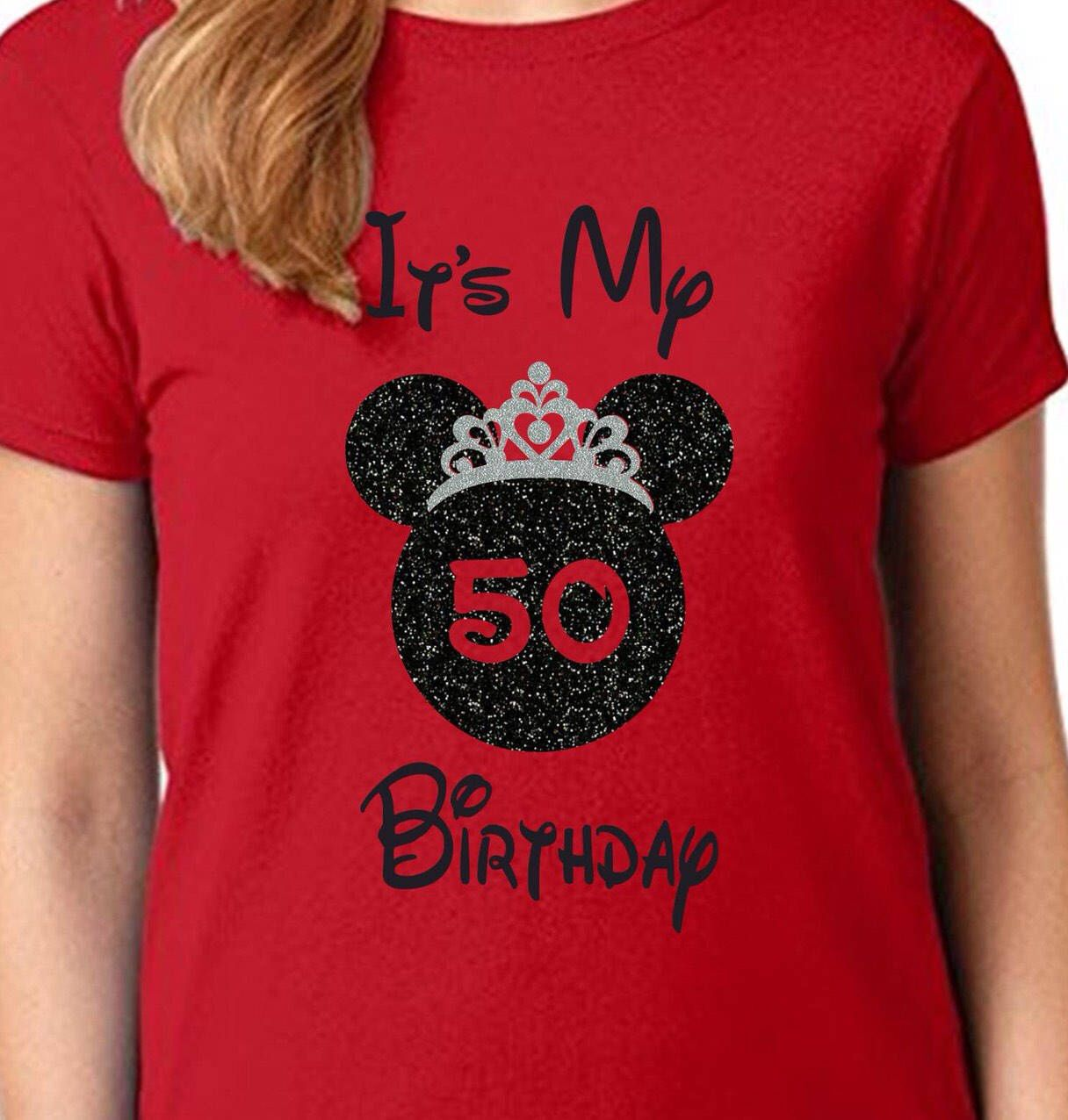 Disney Birthday Girl Shirt Its My Custom