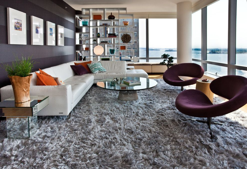 Living Room Ideas Grey Carpet Contemporary With Open Floor Plan