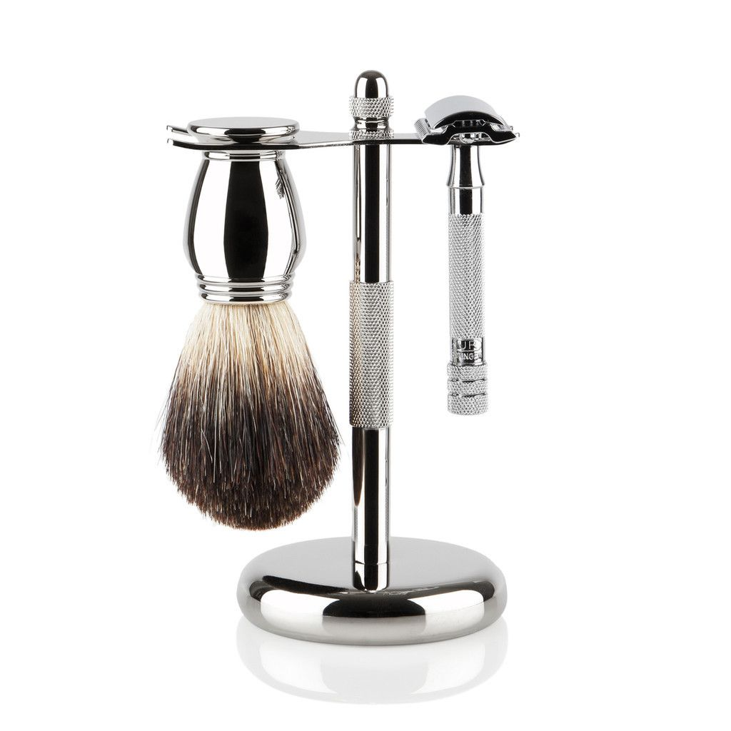Merkur Shaving Kit. A real razor for a real man. Shaving