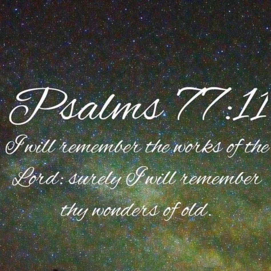 Family Quotes Scripture: Latham Family Bible Verse I Will Remember The Deeds Of The