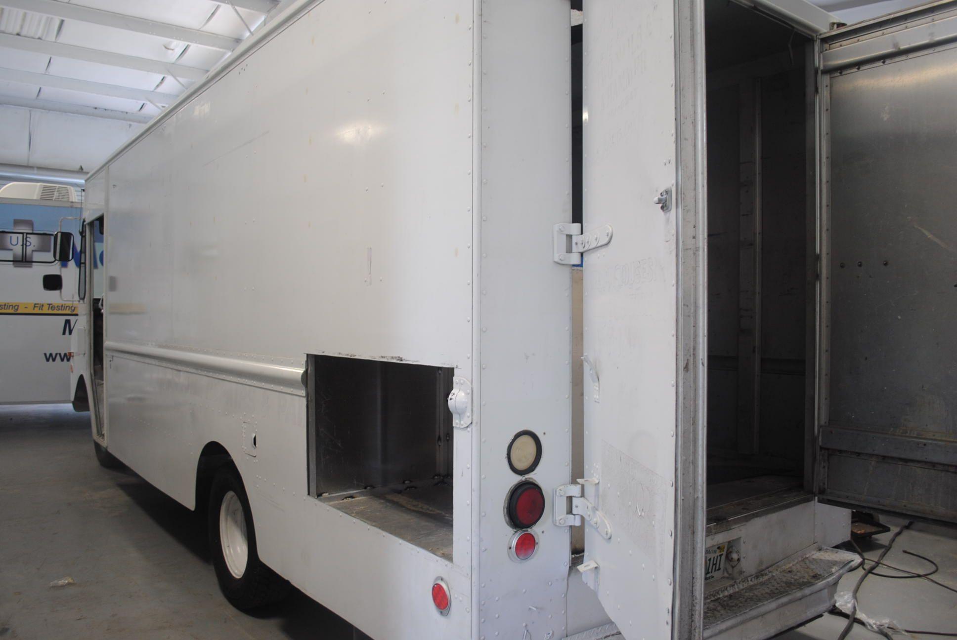 Generator ready food truck recreational vehicles