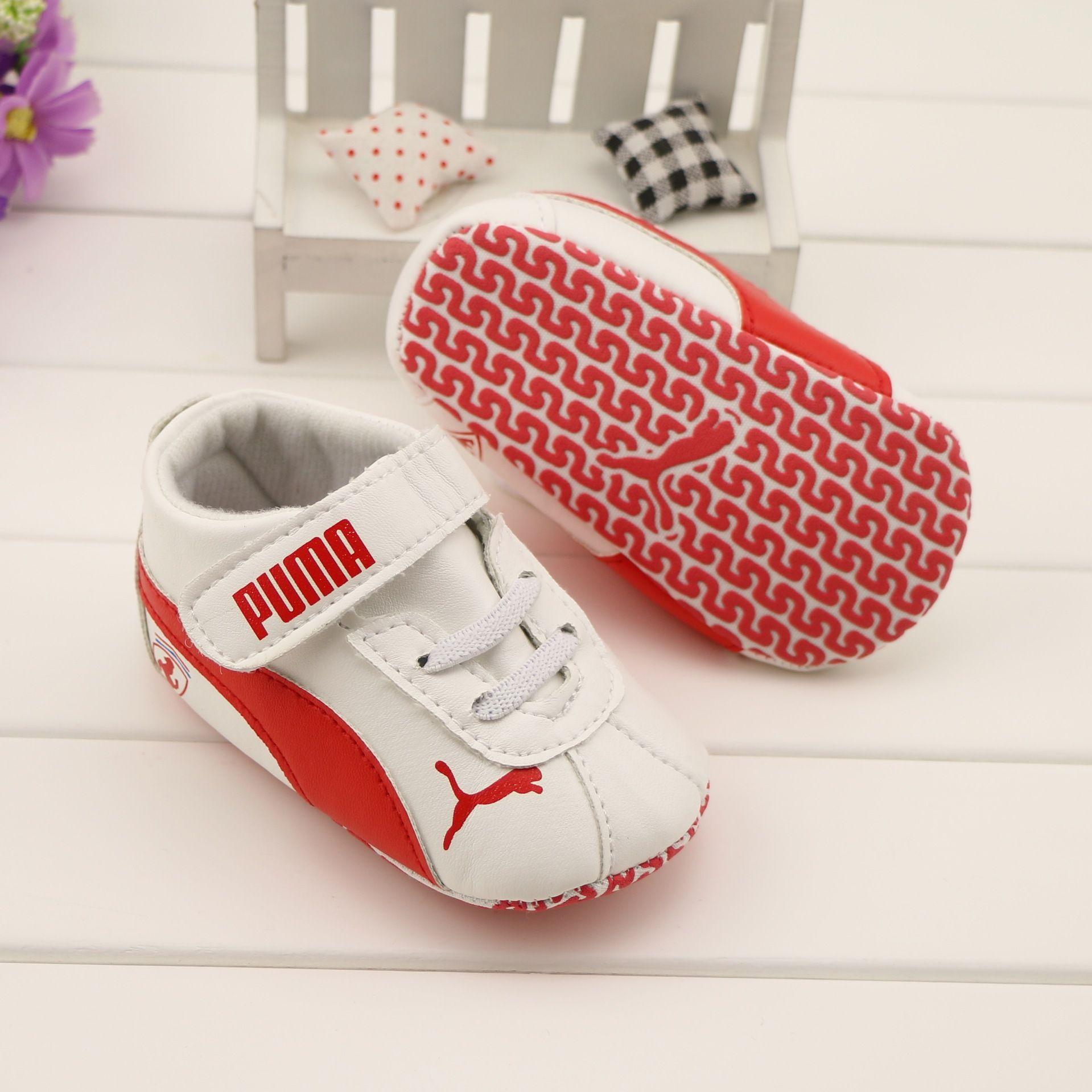 puma Baby Shoes Soft Bottom Boy Prewalker