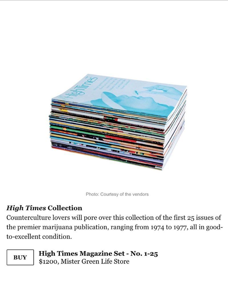 Many thanks for adding us to your holiday gift guide @nymag