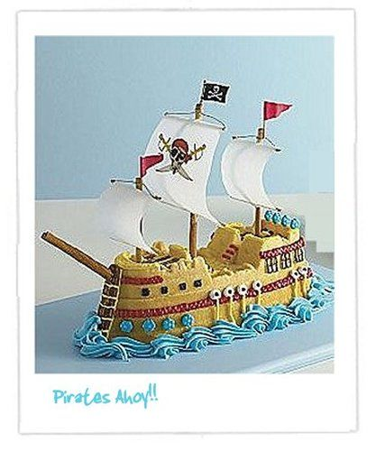 NordicWare ship decorated.