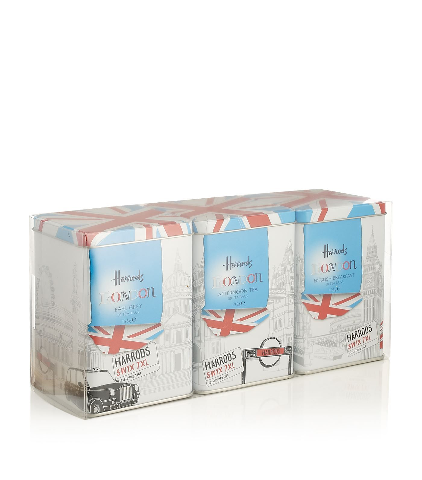 Harrods London Icons Tea Gift Set (3 X 50 Tea Bags