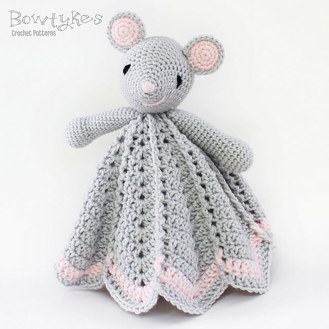 Wee Mouse Lovey pattern by Briana Olsen | Manta, Ganchillo y Bebe