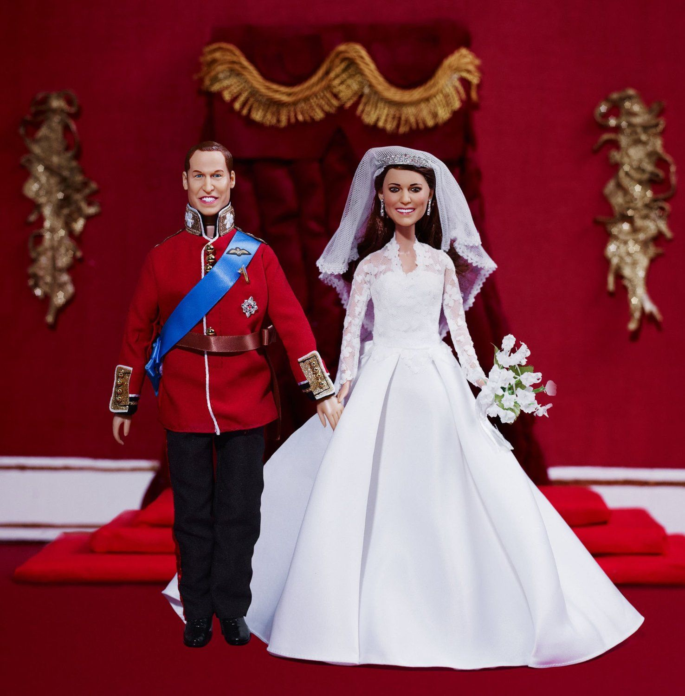 Amazon.com: Royal Wedding Dolls | Princess Catherine Wedding Doll ...