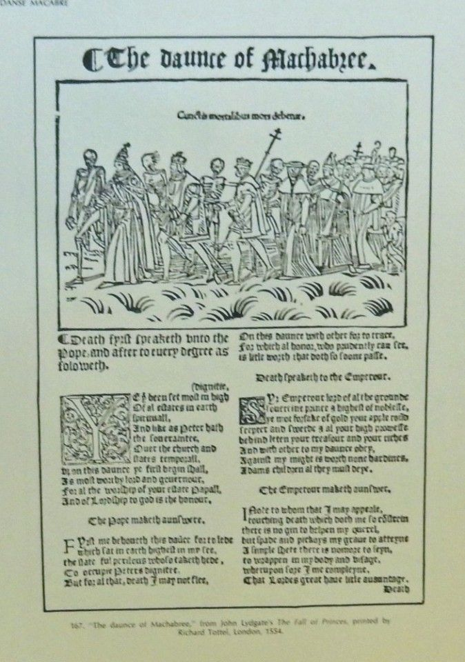 The daunce of Machabree printed by Richard Tottel 1554 | Remember ...