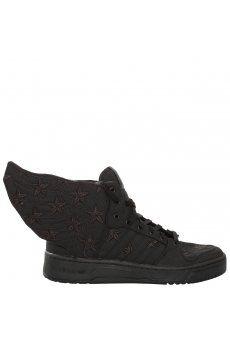 innovative design bc46f 60132 Black Flag Wings 2.0 High Top Trainers Black   Jeremy Scott for Adidas  Scott Brand,