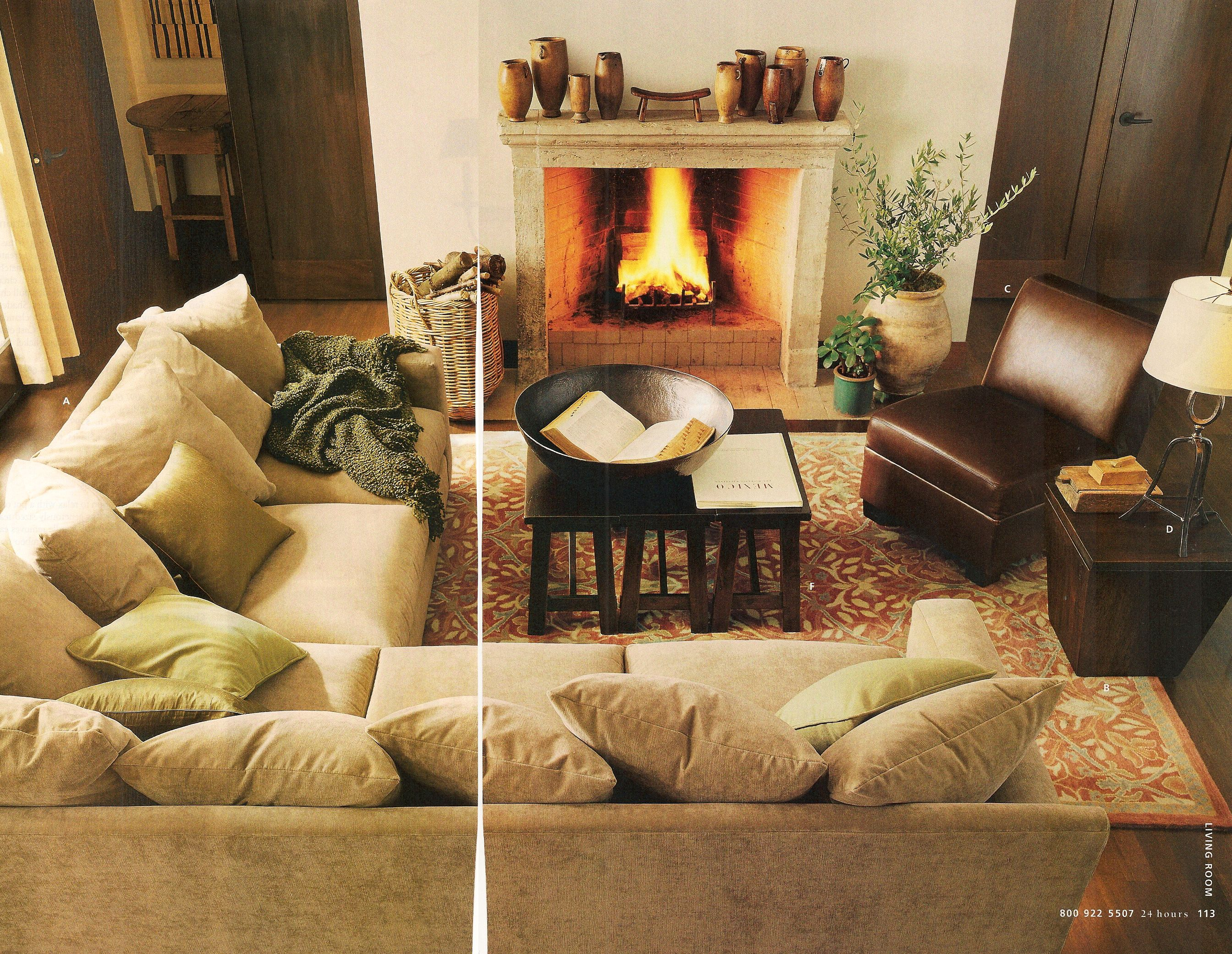 Best Pb Living Room Arrangement With Fireplace Love The 640 x 480