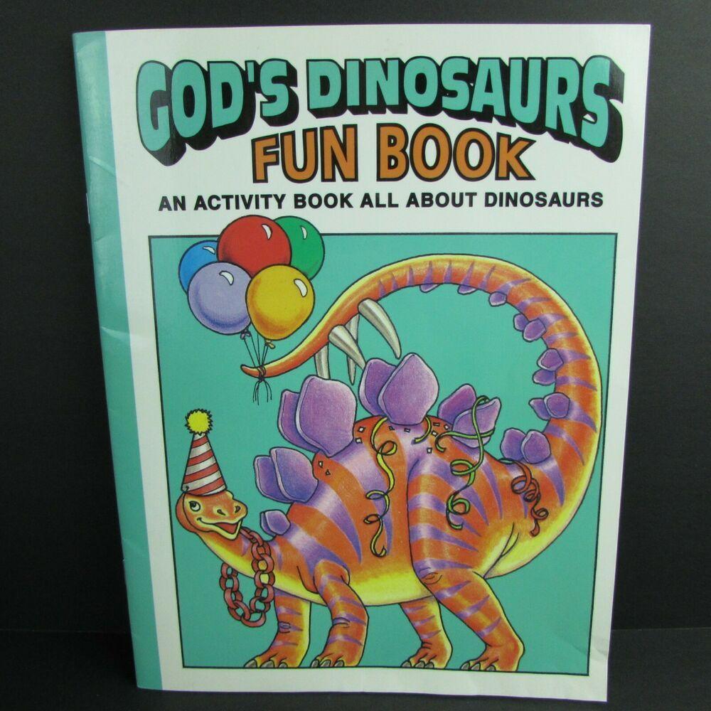 Details about gods dinosaurs fun book an activity book