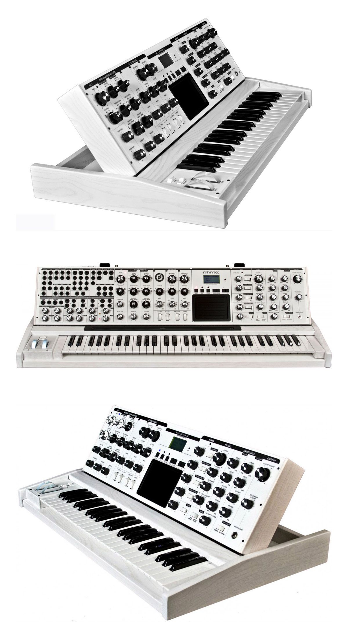 Moog MiniMoog Voyager XL - Analog Keyboard The Moog MiniMoog