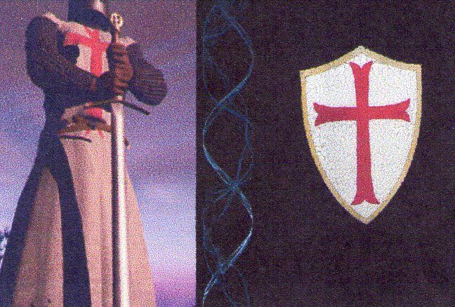 knight templar funeral | ... to Robert The Bruce's Burial Site A Knight Templar O God's Holy Army