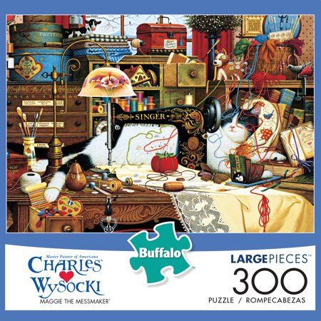 Buffalo Games Charles Wysocki Maggie The Messmaker 300 Piece